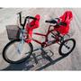 Bicicleta Triciclo Kids 2 Cadeirinha Infantil Kalf