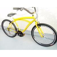 Bicicleta Caiçara Nova Bike Beach Aro 26 - Parcela Até 12 X