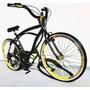 Bicicleta Beach Bike Retrô Caiçara Aro 26 Harley N Caloi