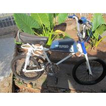 Bicicleta Antiga Monark Bmx Tanquinho Azul - Linda