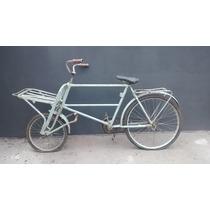 Raríssima Bicicleta Cargueira Carga Entregas Antiga
