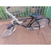 Bicicleta Philips Antiga/aro 24/cor Preto/toda Original/nova
