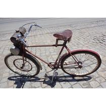 Bicicleta Com Motor Rex 1950 - Para Restauração...