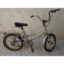 Bicicleta Antiga Infantil Aro 14 Caloi Ceci Original