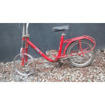 Bicicleta Monareta Antiga Anos 80 Aro 20