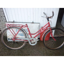 Bicicleta Antiga Caloi Poti Aro 26 Bem Inteira Pintura Origi