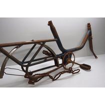 Quadro Bicicleta Monareta Antiga