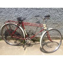 Bicicleta Antiga Monark Jubileu De Ouro - Original - Rara