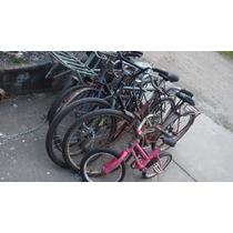Lote De 7 Bicicletas Antigas Cargueira E Ano 80 90