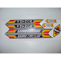 Monark Barra Circular 80 Adesivo Cartela Original
