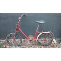 Bicicleta Berlineta Parece Monareta Aro 20 Antiga Anos 80