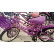Bicicleta Infantil Monark Brisa Aro 20 Com Garupa E Cestinha