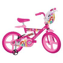 Bicicleta Aro 14 Princesas Disney - Bandeirante