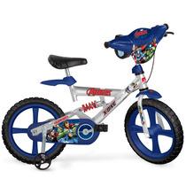 Bicicleta X-bike Aro 14 Vingadores - Bandeirante