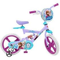 Bicicleta X-bike Brinquedos Bandeirante Disney Frozen Aro 14