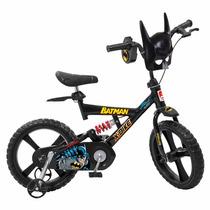 Bicicleta X-bike Aro 14 - Batman - Bandeirante