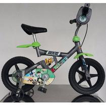 Bicicleta Infantil X-bike Aro 12 Ben 10 - Bandeirante