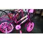 Bicicleta Infantil Feminina Aro 16