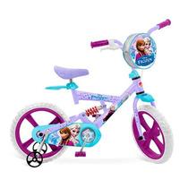 Bicicleta Infantil X-bike Aro 14 Frozen Disney - Bandeirante