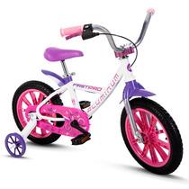 Bicicletas Infantil Alumínio Nathor Aro 14 Firstpro Feminina
