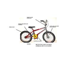 Bicicleta Cross Aro 20 ,aros Aero Dnz Ref 36