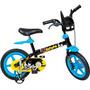 Bicicleta Aro 12 Batman Bandeirante