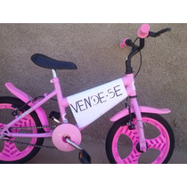 Bicicleta Infantil Baby Girl Wendy Bike Novíssima Aro 16