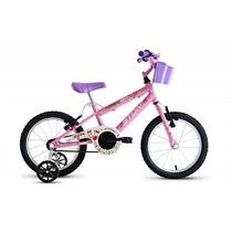 Bicicleta Aro 16 Sk-ii Fem Com Rodinhas - Rosa - Stone Bike
