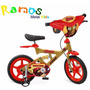 Bicicleta Infantil - Iron Man, Vingadores - Homem De Ferro