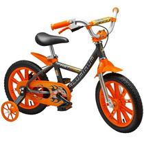 Bicicleta Aro 14 First Pro Boy Aluminum Nathor