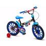 Bicicleta Infantil Aro 16 Menino Nathor Tech Boys Original