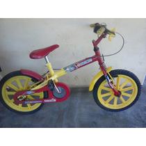 Bicicleta Infantil Aro 16 Usado Quase Nova Em Otimo Estado