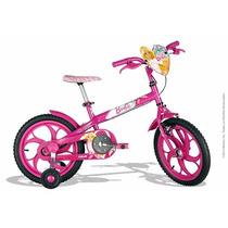 Bicicleta Infantil Feminina Caloi Barbie Bike Aro 16