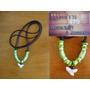 Cordão Artesanal Hippie - Modelo Green Ocean