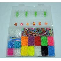 Rainbow Loom - Kit Especial - 4500 Elásticos + Tear + Brinde