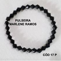 Pulseira Artesanal Tons Preto Cód 17