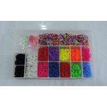 Rainbow Loom - Kit 2.400 Elásticos + Caixa E Frete Grátis