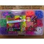 Kit 720 Elásticos Para Pulseiras+caixa Organizadora+brindes