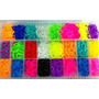 Rainbow Loom Kit Maleta Refil 5000 Borrachas + Brinde!!
