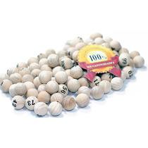 Bolinhas De Bingo 100 Bolas Para Víspora Bingo Nº2 Ou Nº3