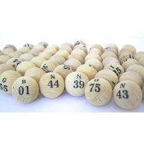 Coleção De 75 Bolas Para Bingo Nº 4
