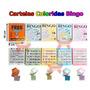 1.500 Cartelas Coloridas Para Bingos De 75 Bolas