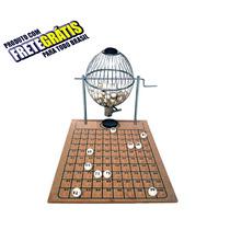Vispora Nº2 100 Bolas Bingo Profissional Globo Zincado Fret