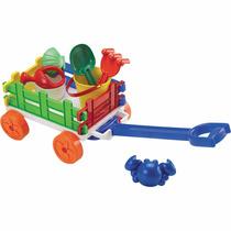 Brinquedo Carreta De Praia E Jardim 3020 Delta Útil