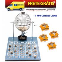 Jogo De Bingo 75 Bolas Médio Nº2 Com 400 Cartelas Icf