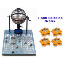 Jogo De Bingo 75 Bolas Pequeno Nº1 Com 400 Cartelas Ip