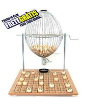 Vispora Nº3 300 Bolas Bingo Profissional Globo Cromado Fret