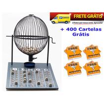 Jogo De Bingo 75 Bolas Grande Nº3 Com 400 Cartelas Ipf