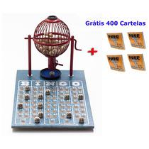 Jogo De Bingo 75 Bolas Pequeno Nº1 Com 400 Cartelas Iv