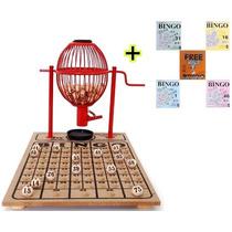 Bingo Completo - Globo Vermelho Nº 1 + 300 Cartelas Grátis